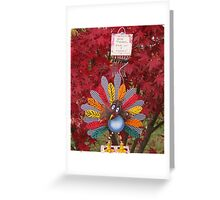 Give Thanks For Vegans Greeting Card