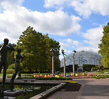 Missouri Botanical Garden by Paula Betz