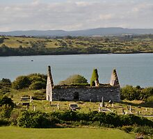 Church ruins in Baltimore, County Cork by PrestoConn