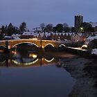 Aylesford in Winter by Sue Martin