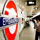 Wife riding the London Underground by scottseldon