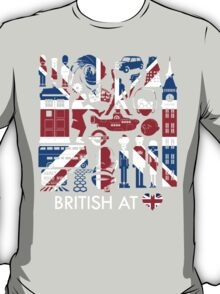 British @ Heart T-Shirt