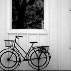 Retro Bicycle by BonnieToll