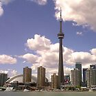 Toronto Skyline by Keeawe