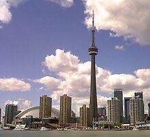 Toronto Skyline by Keeawe