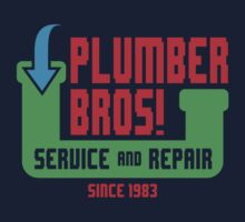 PLUMBER BROS! by DREWWISE