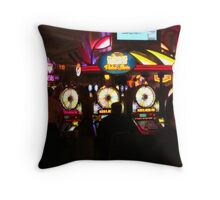 Bright Lights and Loud Noises   ^ Throw Pillow
