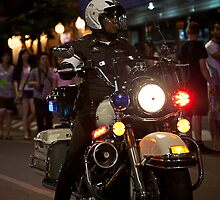 Policeman - Chang Mai, Thailand by Cameron Christie