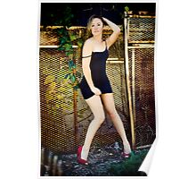 Tina-Little Black Dress-2 Poster