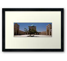 Mir-i-Arab Madrassa Framed Print