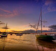 Poole - Sunset by Pawel Tomaszewicz