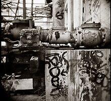 { aged mechanics } by Lucia Fischer