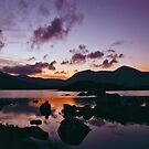 Twilight over Rannoch Moor and the Black Mount, Scotland by David Alexander Elder