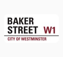 Baker Street Sign by StreetsofLondon
