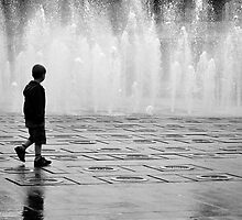 Piccadilly Gardens, Manchester by Nick Coates