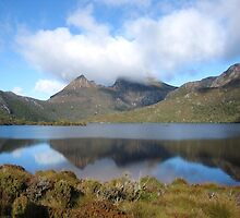 Cradle Mountain reflections. Tasmania Australia by cschurch