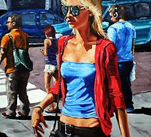 Blonde, Aviators by James Needham