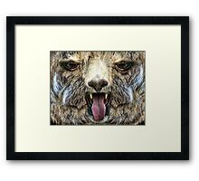 BLEH! Framed Print