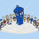 Doctor WHO-ville - Print by ianleino
