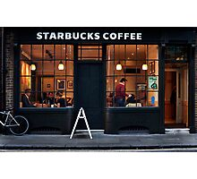 Starbucks Spitalfield Photographic Print