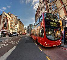 London Bus by Pawel Tomaszewicz