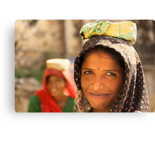 One Midday Moment in Udaipur Canvas Print