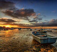 Boat - Poole - Dorset by Pawel Tomaszewicz
