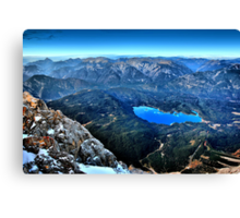 german alps Canvas Print