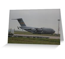 09-9208 USAF C17 Greeting Card