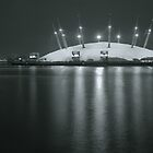 The O2 by night by Sunnivam