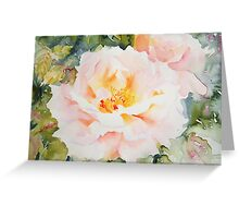 Peachy Greeting Card