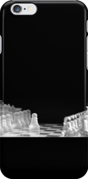 Chess 9: First move (T-Shirt & iPhone case) by Lenka