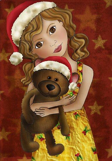 Christmas Bear Hugs by Kristy Spring-Brown