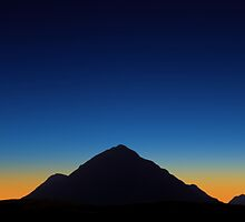 Dusk over Glencoe, Scotland by David Alexander Elder