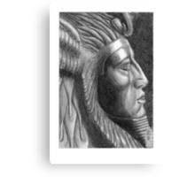 The X in SphinX: Amenemhat III Canvas Print