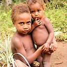 Louinio Village Kids - Tanna Island by tracyleephoto