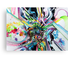 Technicavity - Watercolor Painting Canvas Print
