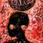 "Who Cares (Collagraph Print) by Belinda ""BillyLee"" NYE (Printmaker)"