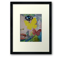 Heart Obscured by the Moon Framed Print