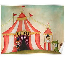 Lets go to the circus Poster
