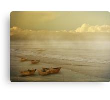 Paper Boats Canvas Print