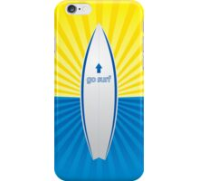 goSurf iPhone Case iPhone Case/Skin