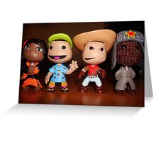 little big planet figures/characters. Greeting Card