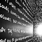 The Writing's On The Wall by Timmy Johnston