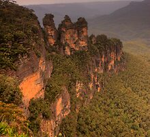 The Three Sisters, Blue Mountains by Beata Morris