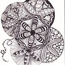 ZenTangle 14 by Kerryn Rowe
