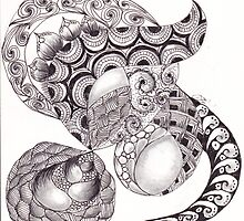 ZenTangle 21 by Kerryn Rowe