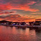 Swansea Wharf Boats by ImageBud