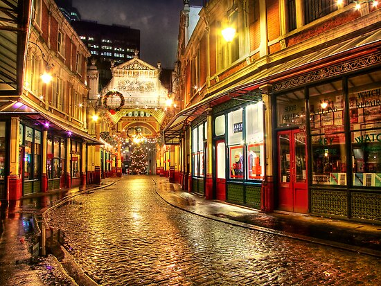 Rainy December - Leadenhall Market Series - London - HDR by Colin J Williams Photography
