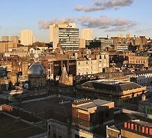 Autumnal Light Over Glasgow by TonyClerkson